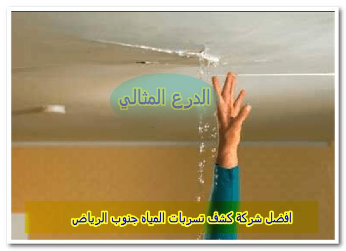 افضل شركة كشف تسربات المياه جنوب الرياض