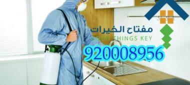 شركة رش مبيدات بالرياض