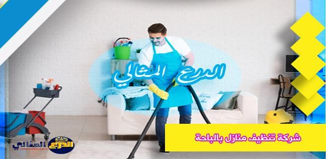 شركة تنظيف منازل بالباحة